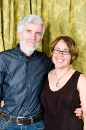Mike Roach and Kim Osgood, co-owners of Paloma Clothing in SW Portland